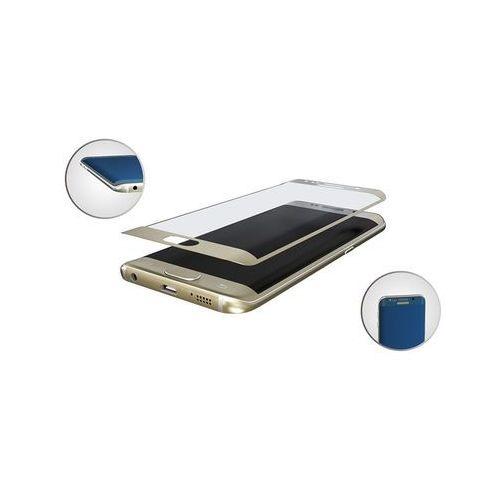 3MK SZKŁO HARTOWANE HardGlass Max do SAMSUNG GALAXY S7 EDGE złoty - złoty, 1_609602