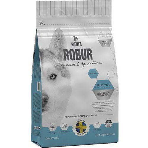 Robur sensitive grain free reindeer 3 kg marki Bozita
