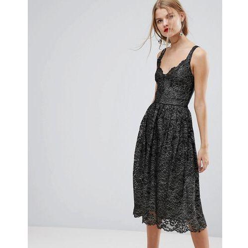 Y.A.S Lace Midi Dress - Multi
