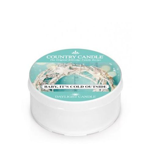 Kringle candle Country candle świeca zapachowa 35g baby, it's cold outside