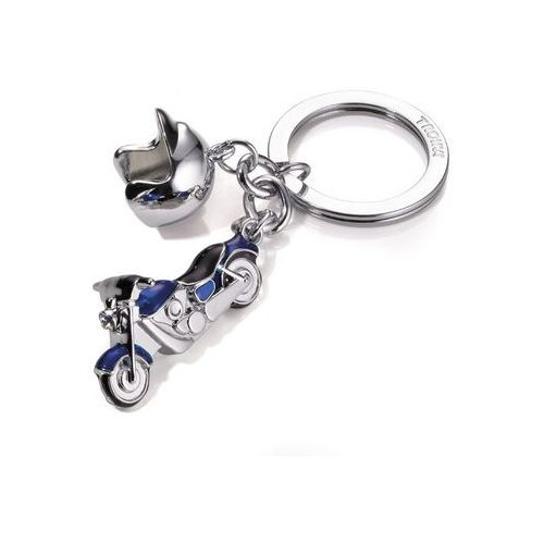 Troika Brelok motocykl key cruising blue
