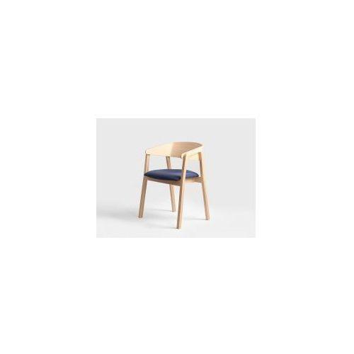 Krzesła drewniane Customform Klara- różne kolory tapicerki, drzewo naturalne, kolor różowy