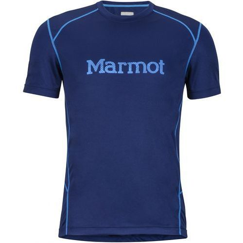 Marmot windridge with graphic ss arctic navy/french blue m