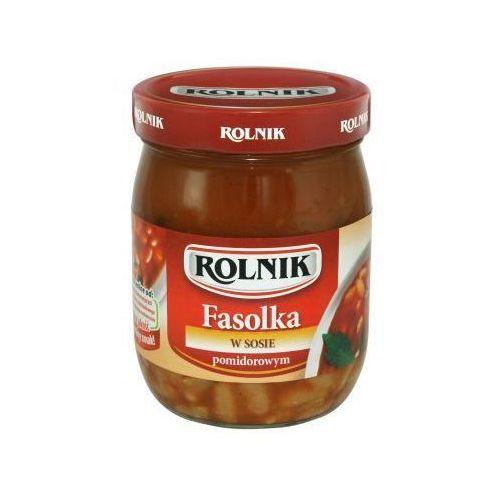 Fasolka w sosie pomidorowym 510 g  marki Rolnik