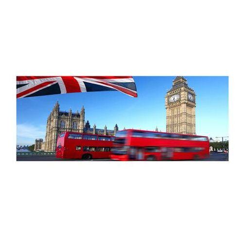 Foto obraz akryl autobus w londynie marki Wallmuralia.pl