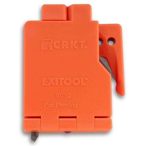 Nóż do cięcia pasów crkt exitool 9030s (pomarańczowy) marki Crkt - columbia river knife&tool