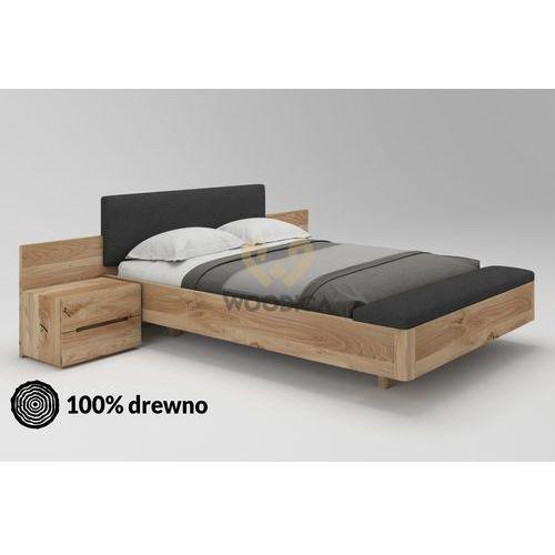 Łóżko dębowe lewitujące 03 200x200 marki Woodica