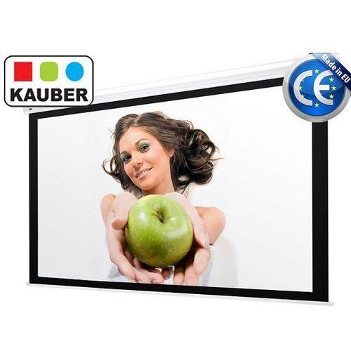 Ekran elektryczny blue label clearvision 280 x 210 cm 4:3 marki Kauber