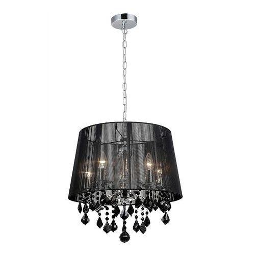 lampa wisząca CORNELIA czarny 5xE14 - BZL, ITALUX MDM-2572/5 BK