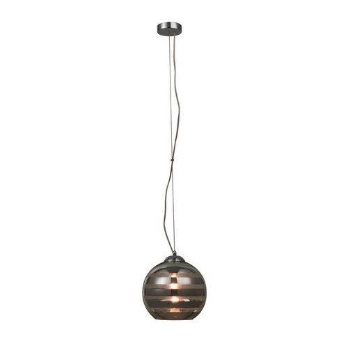 Krislamp Lampa wisząca zwis safira 1x40w e27 chrom / przezroczysta kr339-1l