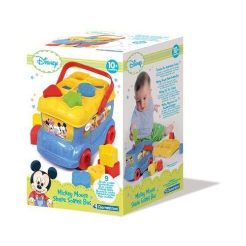 Autobus Baby Mickey z klockami do wkładania