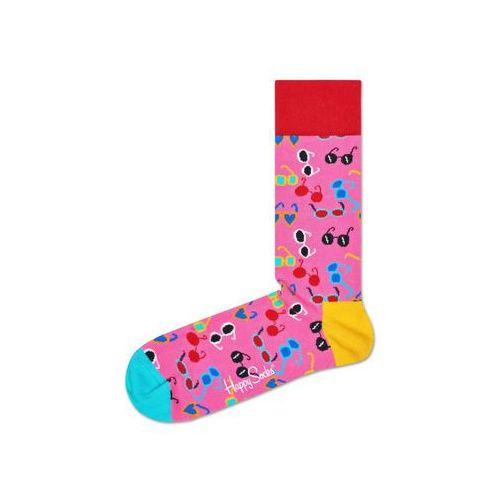 Happy socks shades skarpetki różowy wielokolorowy 36-40