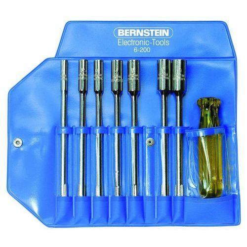 Zestaw wymiennych kling Bernstein 6-200, do warsztatu, zewnętrzny sześciokąt, 8 szt.