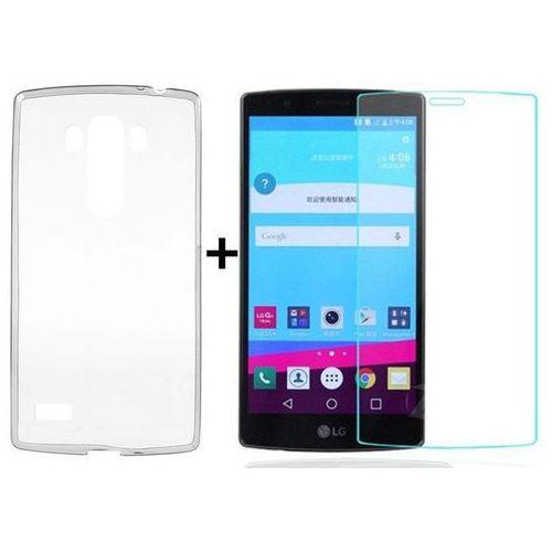 Ultra slim / perfect glass Zestaw   obudowa ultra slim przezroczysta + szkło hartowane perfect glass   lg g4
