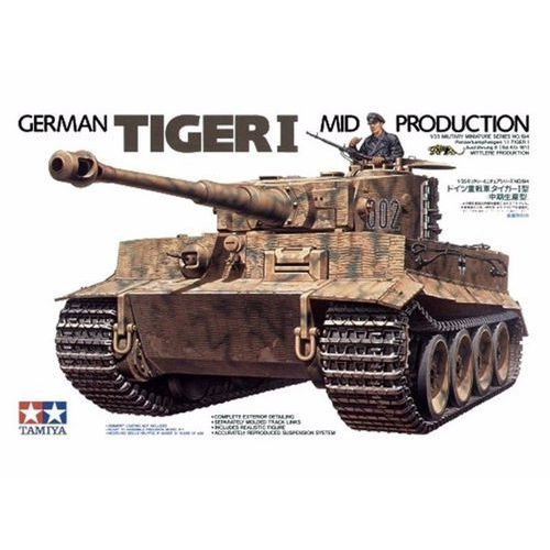 Tamiya German Tiger I Mid Production