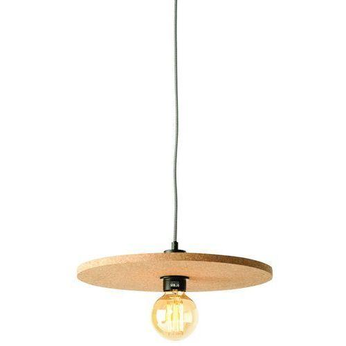 It's About RoMi Lampa wisząca Algarve, korek 40x1,5cm, naturalny ALGARVE/H40/N, ALGARVE/H40/N