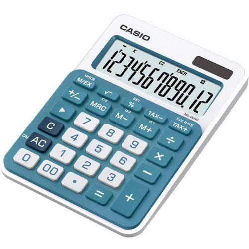 CASIO Kalkulator MS-20NC niebieski