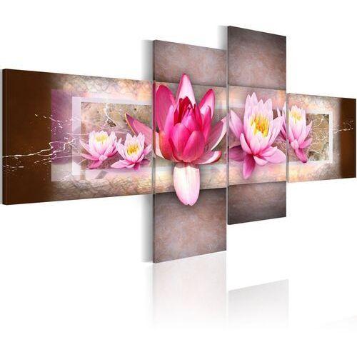 Obraz - Delikatne lilie wodne