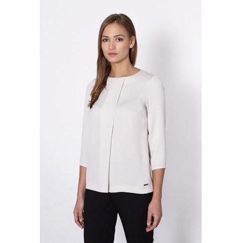 Bluzka model fargo 20558 ecru marki Click fashion
