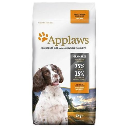 Applaws dog adult s/m breed chicken - 2kg