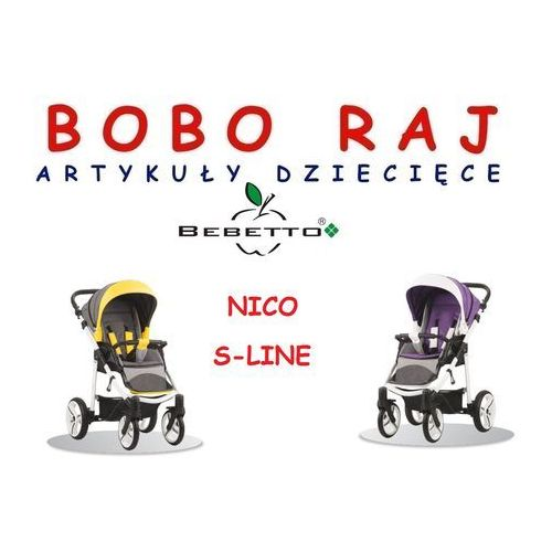 WÓZEK SPACEROWY NICO S-LINE BEBETTO