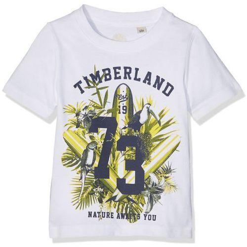 Timberland T-shirt chłopcy, kolor: biały, rozmiar: 8 lat (3143166075400)