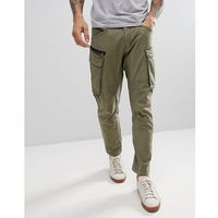 engineered cargo pants - green, Replay