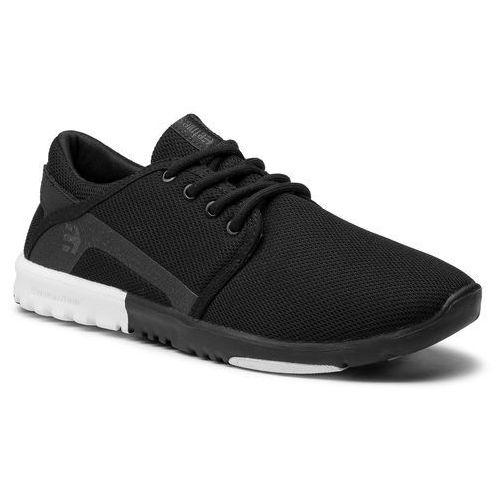 Sneakersy ETNIES - Scout 4101000419 Black/White/White 984, w 6 rozmiarach