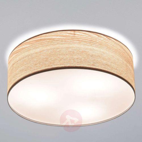 Paulmann Elegancka lampa sufitowa liska w jasnym drewnie