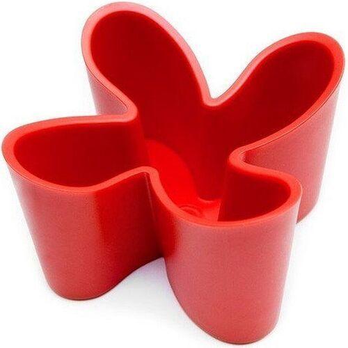 Stojak na piloty cozy czerwony (5060105290794)