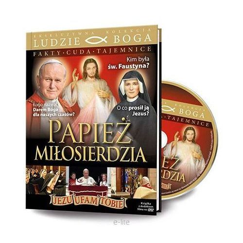 PAPIEŻ MIŁOSIERDZIA + Film DVD. Najniższe ceny, najlepsze promocje w sklepach, opinie.