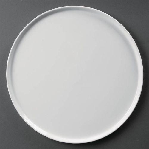 Talerz do pizzy biały | 33(ø)cm marki Olympia