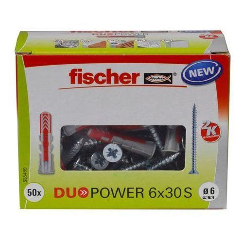 Kołek uniwersalny Fischer Duopower 6 x 30 z wkrętem 50 szt. (4048962239881)