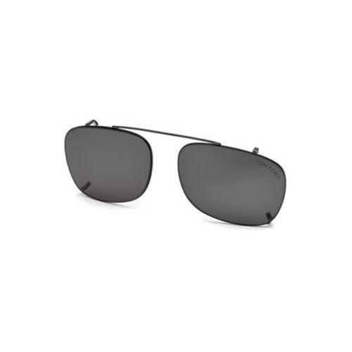 Tom ford Okulary słoneczne ft5501-cl clip on 08a
