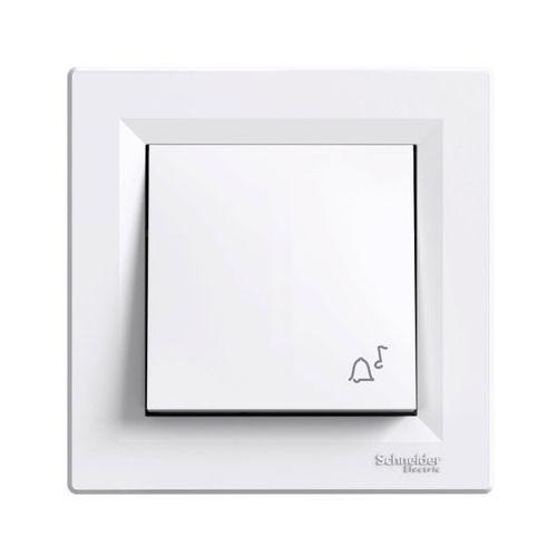 Przycisk dzwonek Schneider Electric Asfora biały (3606480525414)