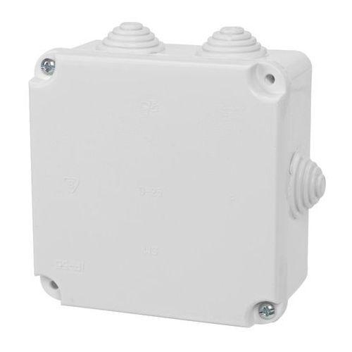 Puszka natynkowa pk-2 hermetyczna ip55 108x108x58 biała 0222-00 ep-lux elektro-plast marki Elektro-plast nasielsk