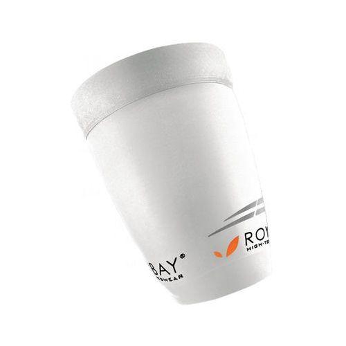 extreme - opaski kompresyjne na uda (biały) marki Royal bay