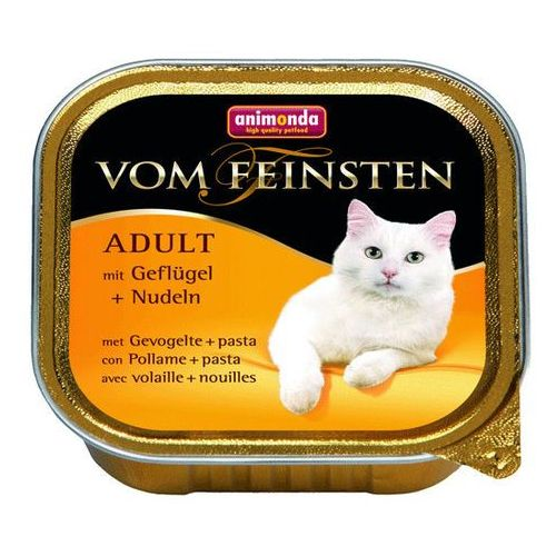 Animonda  vom feinsten cat adult drób z makaronem 100g