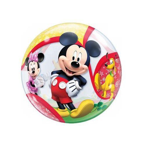 Go Balon foliowy bubble myszka mickey i przyjaciele - 56 cm