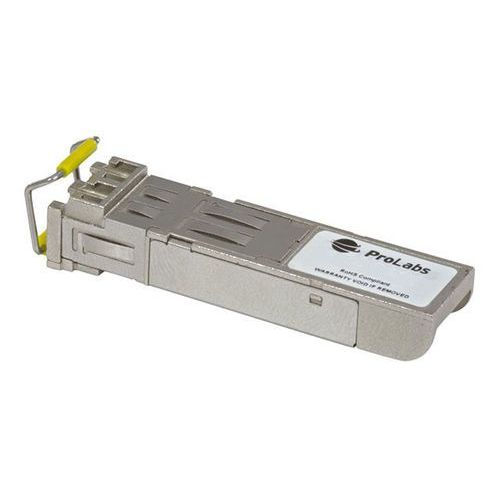 Prolabs 1000base-bxu sfp, tx1490nm/rx1550nm, 80km industrial temp -40 to +85 degree (glc-bx80-u-i-c)