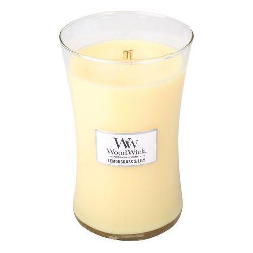 - świeca duża lemongrass & lilly 175h marki Woodwick