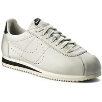 Buty - classic cortez leather prem 861677 007 light bone/light bone/black marki Nike