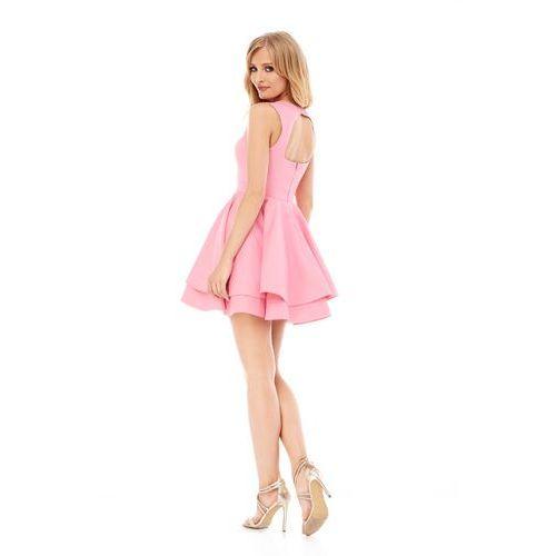 Sukienka Peonia w kolorze różowym, kolor różowy