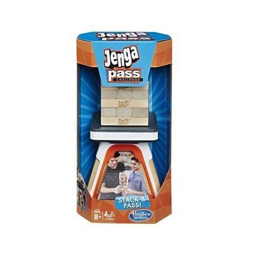 Gra jenga pass challenge marki Hasbro