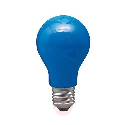 Tradycyjna żarówka E27 40W AGL, niebieska (4000870400449)