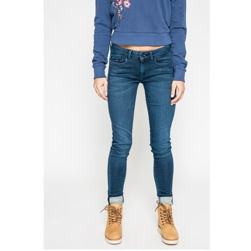 - jeansy marki Pepe jeans