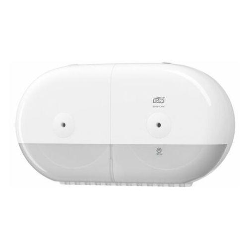 Tork Dozownik do papieru toaletowego podwójny smartone® biały
