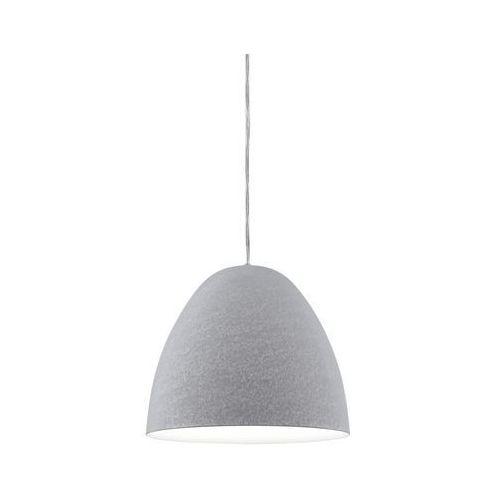 Eglo Lampa wisząca sarabia 94353 metalowa oprawa zwis szary (9002759943530)
