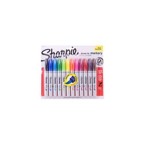 Sharpie sanford brands Sharpie brush markery permanentne 12 kol
