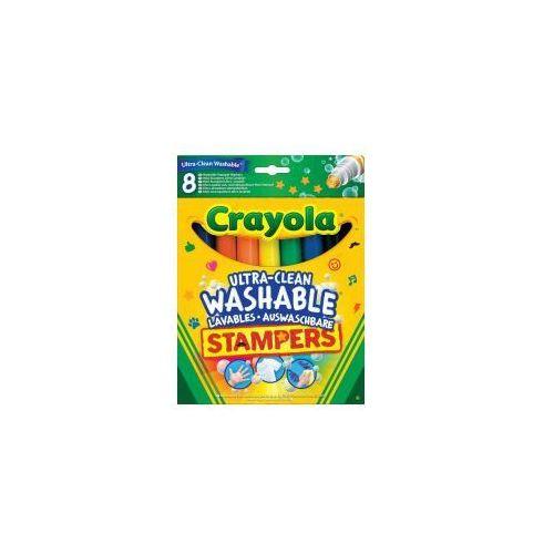 Flamastry ministempelki 8 kolorów marki Crayola